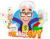 Terry McSweeney The Fun Magic Guy Logo